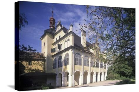 Summer Palace in Opono, Czech Republic--Stretched Canvas Print