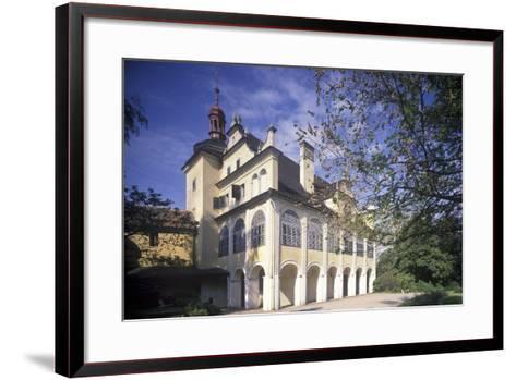 Summer Palace in Opono, Czech Republic--Framed Art Print
