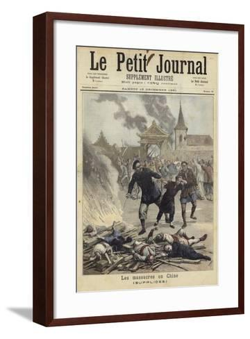 Cover of Le Petit Journal, 19 December 1891--Framed Art Print