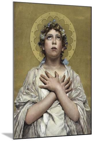 Christians Awake! Salute the Happy Morn--Mounted Giclee Print