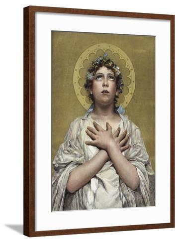 Christians Awake! Salute the Happy Morn--Framed Art Print