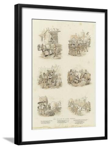 The Ballad of Dame Durden--Framed Art Print