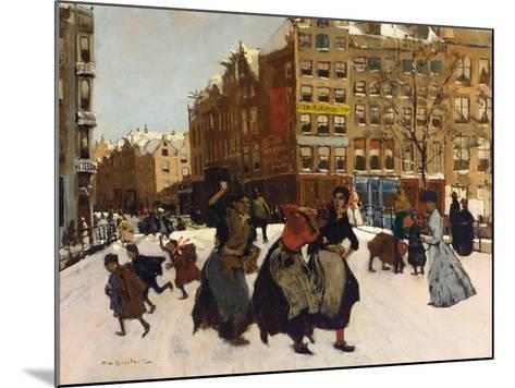 Winter in Amsterdam, C.1898-Georg-Hendrik Breitner-Mounted Giclee Print