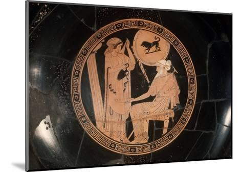 Attica Red Figured Kylix--Mounted Giclee Print