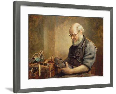 A Sad Case before the Bench, 1891-Thomas Protheroe-Framed Art Print