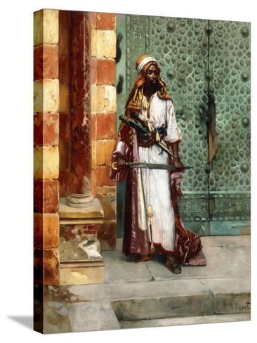 Standing Guard-Rudolphe Ernst-Stretched Canvas Print