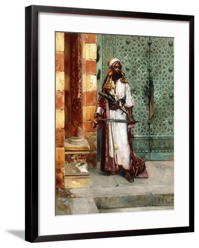 Standing Guard-Rudolphe Ernst-Framed Art Print