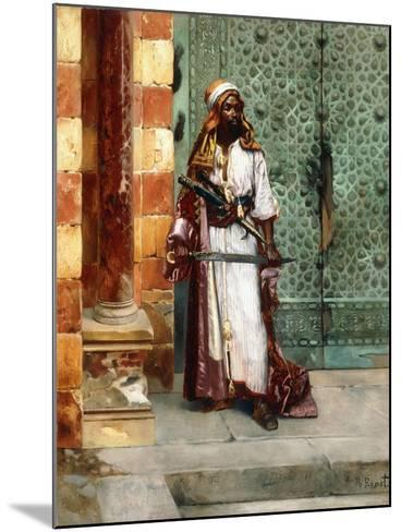 Standing Guard-Rudolphe Ernst-Mounted Giclee Print