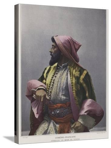 Mounet-Sully in the Title Role in Othello--Stretched Canvas Print