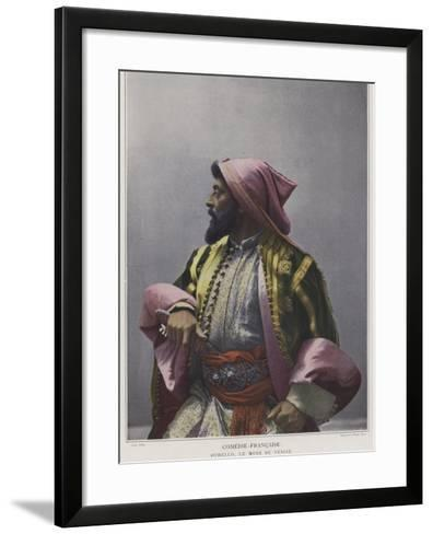 Mounet-Sully in the Title Role in Othello--Framed Art Print