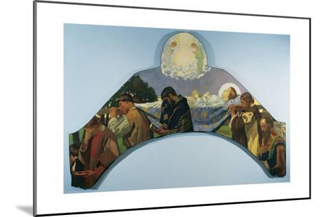 Death of Virgin Mary-Juan Llimona y Bruguera-Mounted Giclee Print
