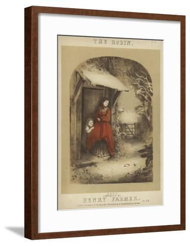 Cover of the Robin--Framed Art Print