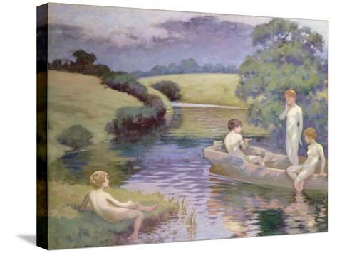 The Age of Innocence-Richard George Hinchliffe-Stretched Canvas Print