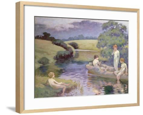 The Age of Innocence-Richard George Hinchliffe-Framed Art Print