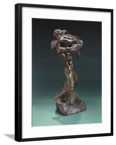 I Am Beautiful, 1882 and before 1926-Auguste Rodin-Framed Art Print