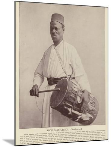 Abou Bakr Ghindi, Soudanese--Mounted Photographic Print