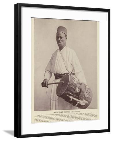 Abou Bakr Ghindi, Soudanese--Framed Art Print