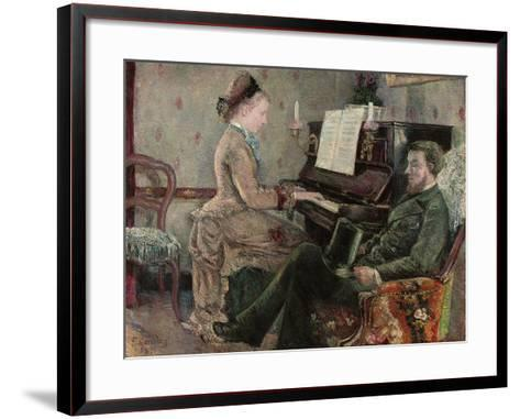 A Captive Audience, 1877-Frederic Samuel Cordey-Framed Art Print