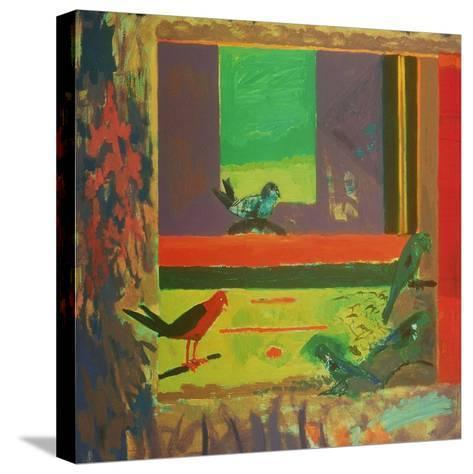 Birds, 1994-David Alan Redpath Michie-Stretched Canvas Print
