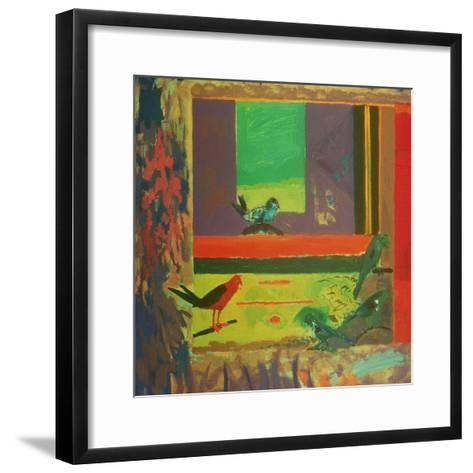 Birds, 1994-David Alan Redpath Michie-Framed Art Print