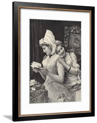 The Sisters-Federigo Andreotti-Framed Art Print