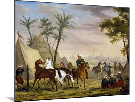 An Eastern Encampment, by Charles Bellier--Mounted Giclee Print