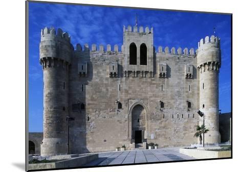 Facade of Citadel of Qaitbay--Mounted Giclee Print