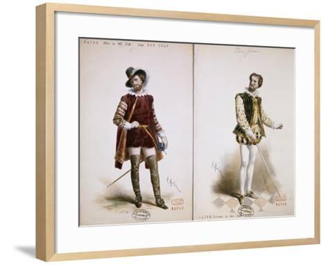 Portrait of Jean Baptiste Faure'--Framed Art Print