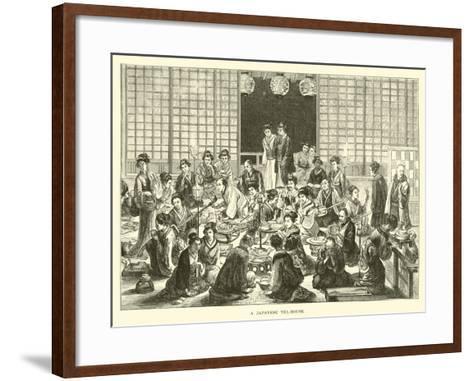 A Japanese Tea-House--Framed Art Print