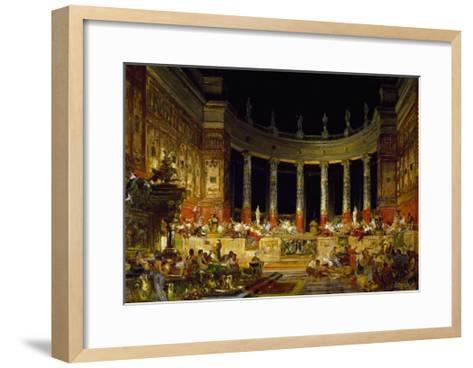 Set Design by Edoardo Merchioro for Nerone--Framed Art Print
