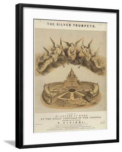 The Silver Trumpets--Framed Art Print