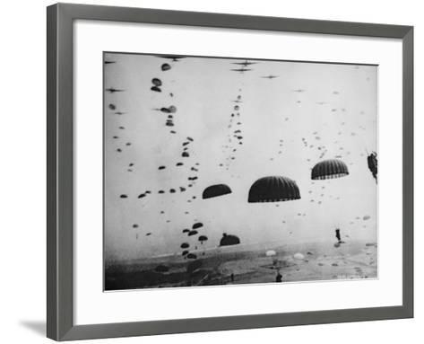 The Battle of Arnhem--Framed Art Print
