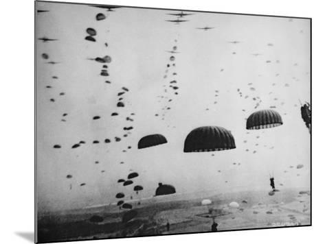 The Battle of Arnhem--Mounted Photographic Print
