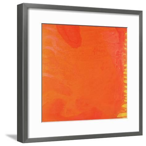 Rabbit Orange, 1997-Charlotte Johnstone-Framed Art Print