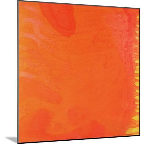 Rabbit Orange, 1997-Charlotte Johnstone-Mounted Giclee Print