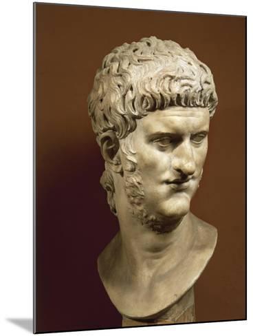 Head of Nero Claudius Caesar Augustus Germanicus--Mounted Giclee Print