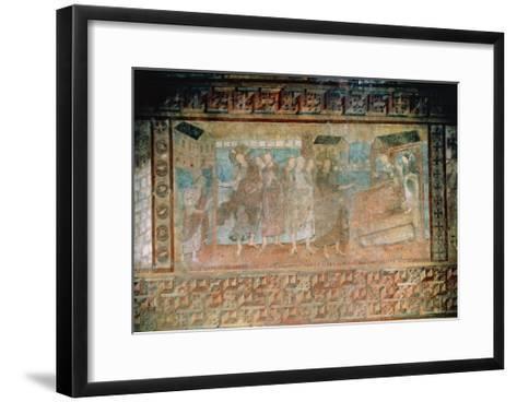 Fresco Representing the Miracles of Jesus--Framed Art Print
