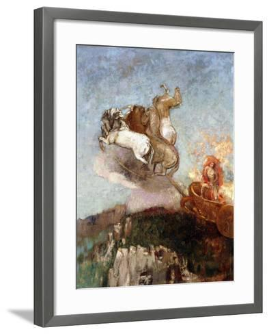 The Chariot of Apollo, 1907-1908-Odilon Redon-Framed Art Print