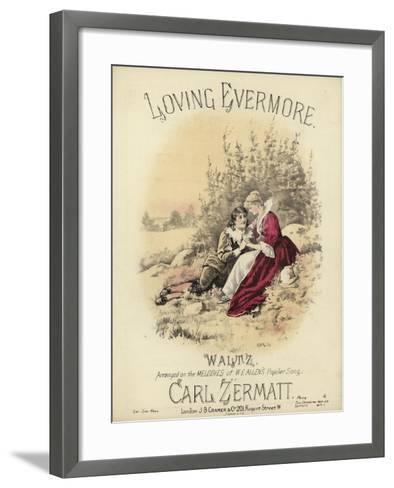Loving Evermore--Framed Art Print