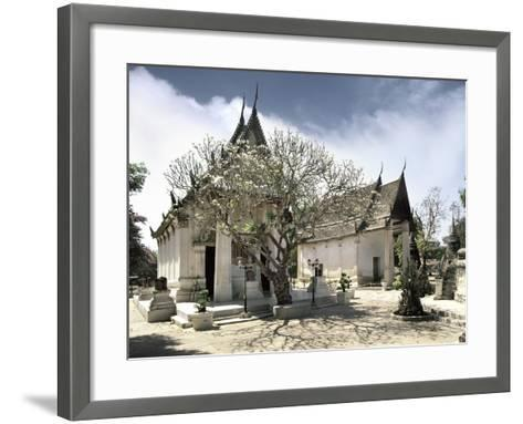 Temple Buildings--Framed Art Print