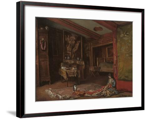 My Room at Tonnerre, 1920-Emile Bernard-Framed Art Print