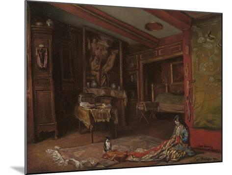 My Room at Tonnerre, 1920-Emile Bernard-Mounted Giclee Print