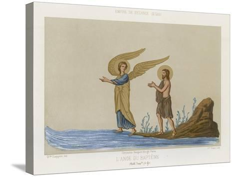 The Angel of Baptism--Stretched Canvas Print