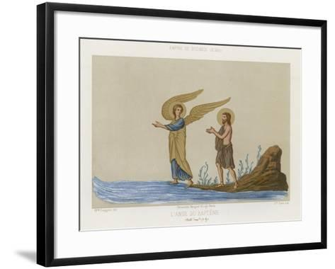 The Angel of Baptism--Framed Art Print