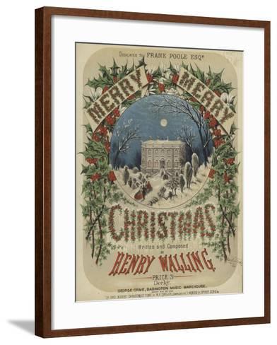 Cover of Merry, Merry Christmas--Framed Art Print