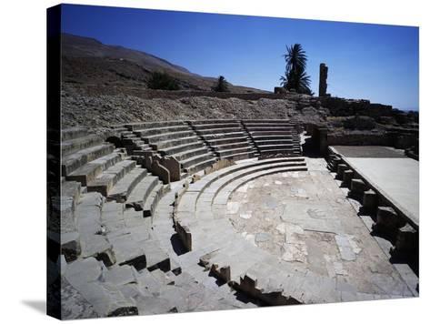 Theatre of Ancient City of Bulla Regia--Stretched Canvas Print