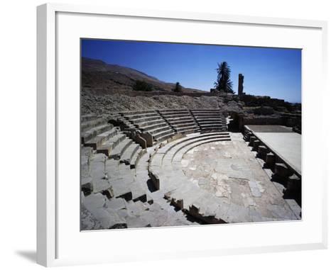Theatre of Ancient City of Bulla Regia--Framed Art Print
