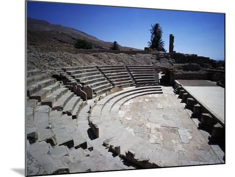 Theatre of Ancient City of Bulla Regia--Mounted Giclee Print