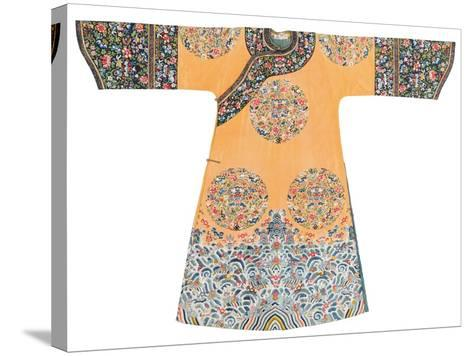 Manchu Style Robe--Stretched Canvas Print