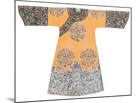 Manchu Style Robe--Mounted Photographic Print